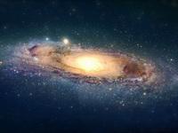 Обои для рабочего стола: Галактика М31 в созвездии Андромеда