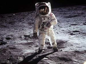 Обои Эдвин Олдрин, Аполлон-11