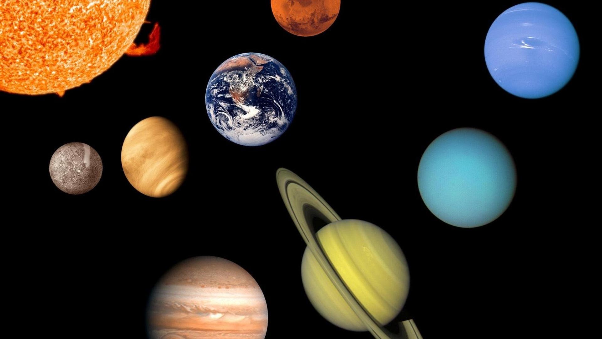 фотографии планет солнечной системы с названиями неприятное