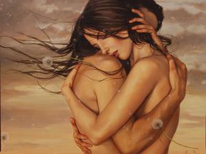Объятия влюбленных