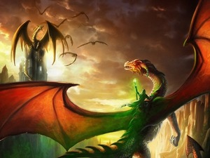 Обои Мир драконов