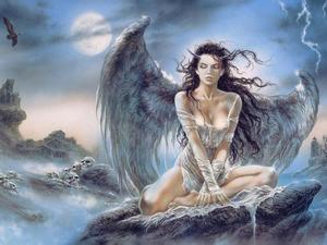 Обои Fallen Angel (Luis Royo)