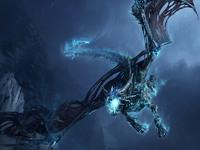 Обои для рабочего стола: Ледяной дракон (World of Warcraft)