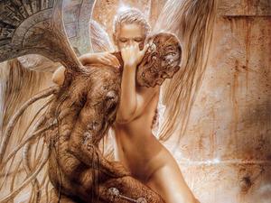 Обои Падший ангел