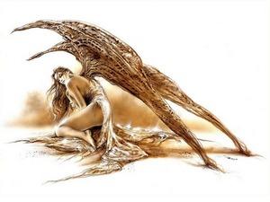 Обои Падший ангел, Луис Ройо