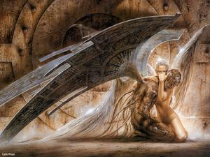 Обои Ангел и демон