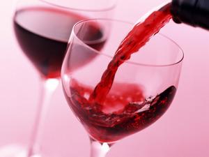 Обои Красное вино