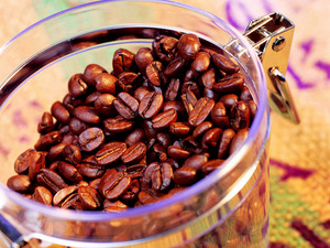Обои Зерна кофе