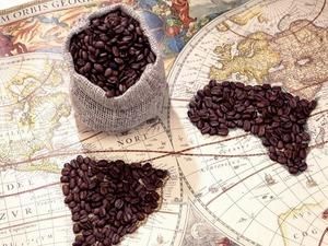 Обои Кофейные континенты