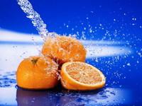 Обои для рабочего стола: Сочные апельсины