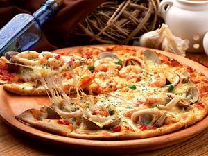 Обои Пицца