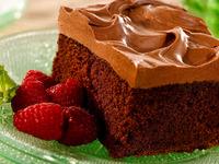 Обои для рабочего стола: Кусок торта и малина