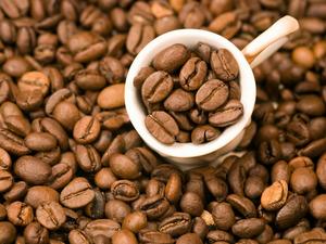 Обои Кофейные зёрна