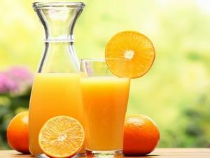 Обои Апельсиновый сок