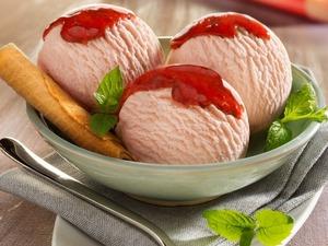Обои Шарики мороженого