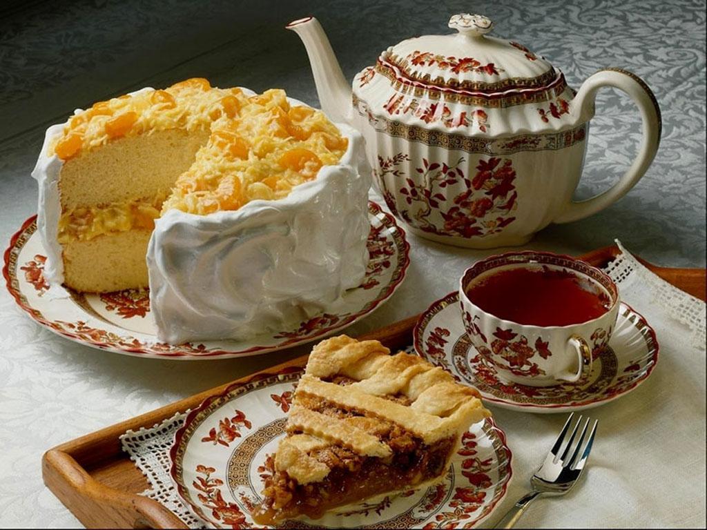 Чай и тортик картинки