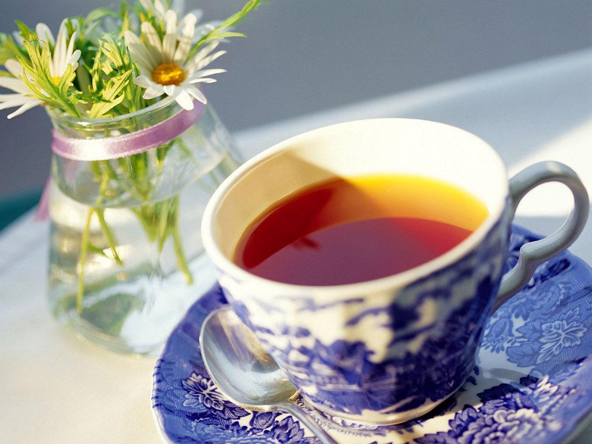 Фото красивой чашки чая