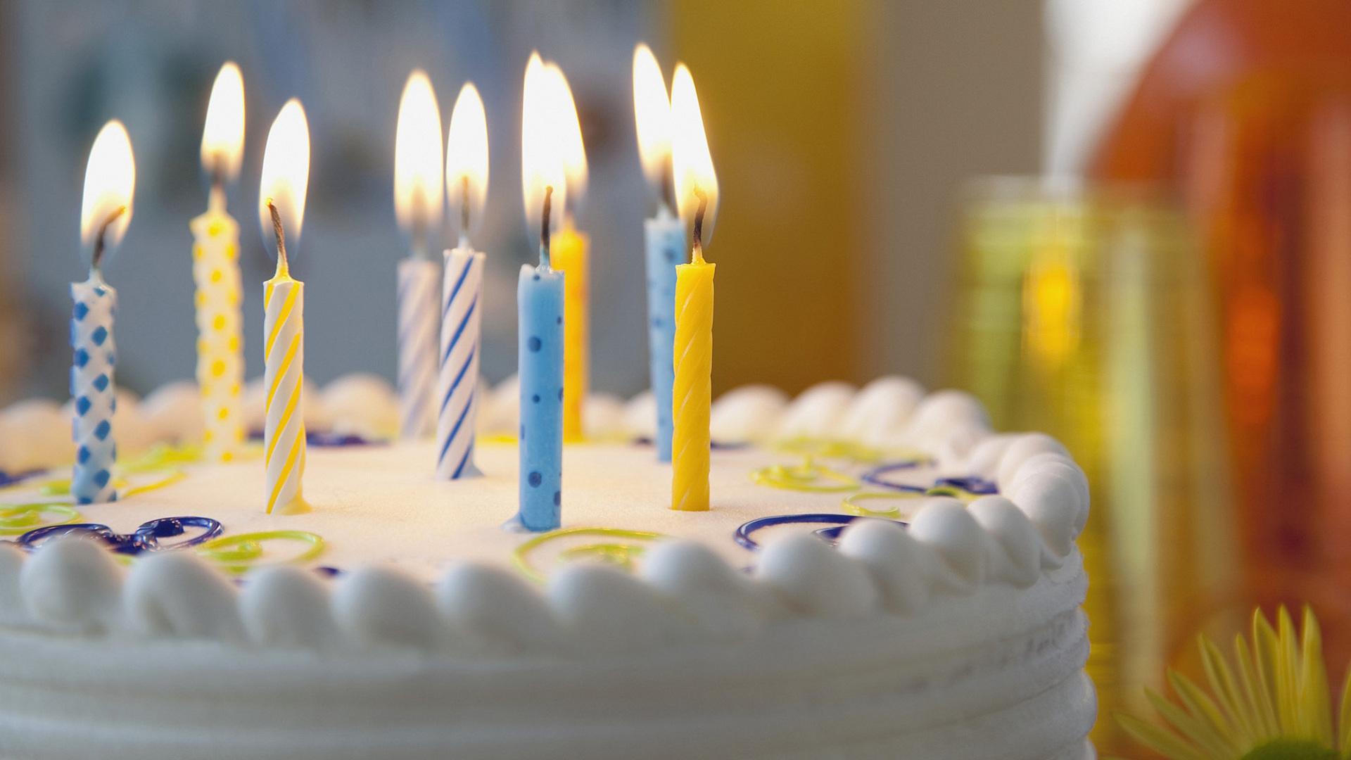 Картинки с тортом и свечками