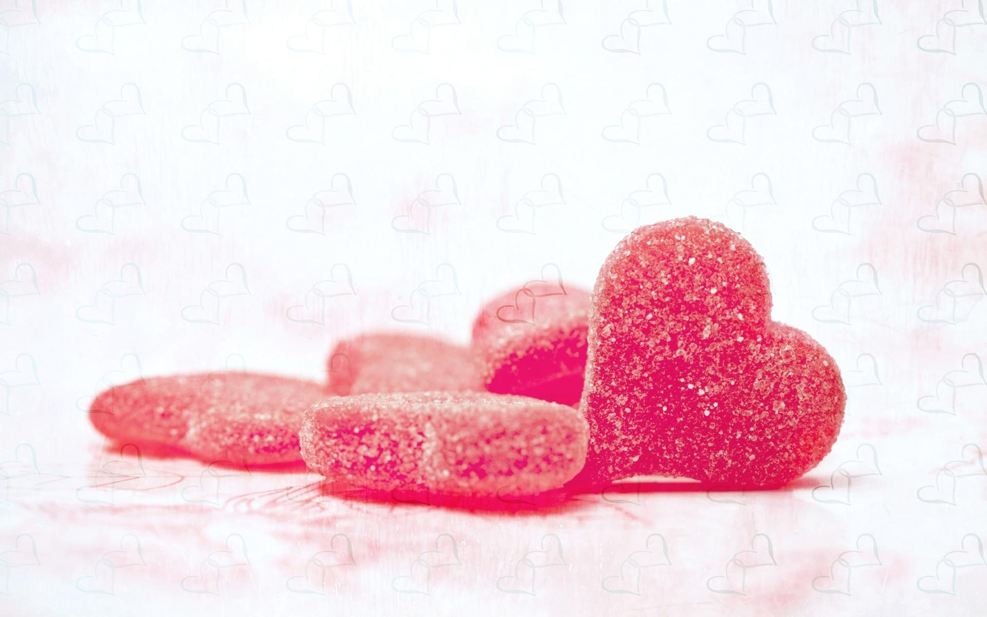 Сердца из мармелада