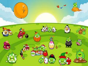 Обои Angry Birds