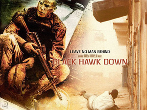 Обои Падение черного ястреба (Black hawk down)