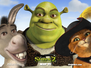 Обои Шрек 2 (Shrek 2)