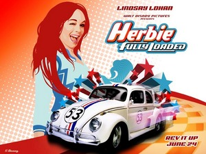 Обои Сумасшедшие гонки (Herbie: Fully Loaded)