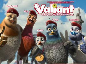 Обои Вэлиант: Пернатый спецназ (Valiant)