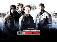 Обои для рабочего стола: Кровь за кровь (Four Brothers)