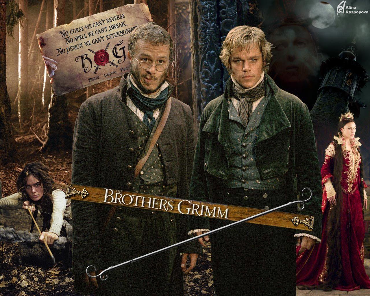 постеры братья гримм