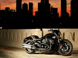 Обои Harley Davidson V-Rod