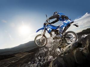Обои Yamaha, мотокросс