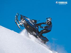 Обои Снегоход Yamaha