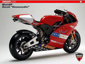 Обои Ducati Desmosedici