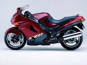 Обои Kawasaki ZZR