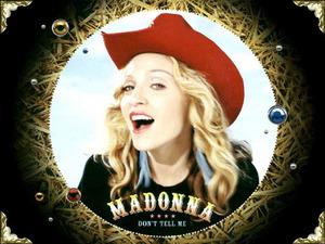 Обои Madonna