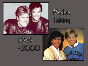 Обои Modern Talking