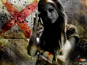 Обои Avril Lavigne