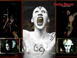 Обои Marilyn Manson