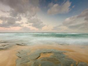Обои Нежность утреннего моря