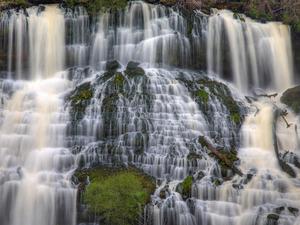 Обои Каскады водопада
