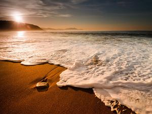 Обои Прибрежная волна