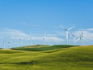 Обои Ветряки