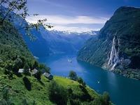 Обои для рабочего стола: Гейрангер-фьорд (Норвегия)