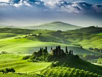 Обои для рабочего стола: Тоскана, Италия