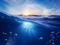 Обои для рабочего стола: В море