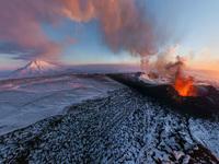 Обои для рабочего стола: Извержение вулкана