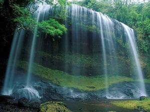 Обои Вуаль водопада
