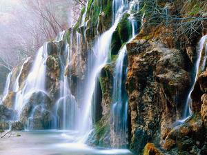 Обои Водопады