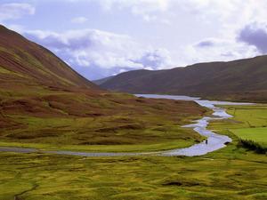 Обои Долина в Шотландии